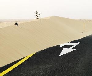 Philippe Chancel, Untitled from the series 'Desert Spirit – Dubai 2007-11'