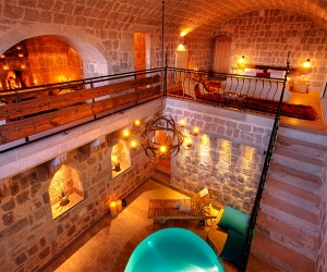 Romantic suite at Argos in Cappadocia, Turkey