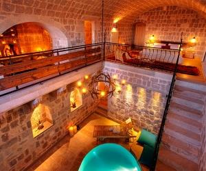 Romantic suite at Argos in Cappadocia, Turkey