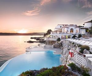 Pool at Hotel Cap Eden Roc in France