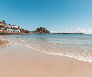 Things to do in Jersey: a white-sand beach