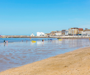 Margate, Kent: Where to eat. Margate Sands