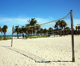 South Beach volley