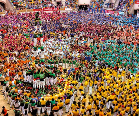 Human Pyramid Festival, Spain