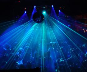 People dancing inside Fabric, London