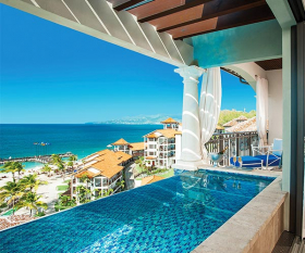 Sandals LaSource Grenada Infinity pool