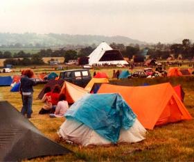 Glastonbury 1981 – credit: Simon Davies