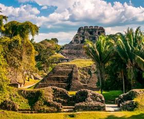 The Maya ruins at Xunantunich in Belize. Photograph by Shutterstock/milosk50