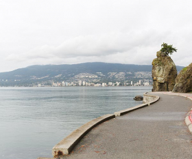 Stanley Park seawall, Vancouver. Photograph by Jessica Jackson