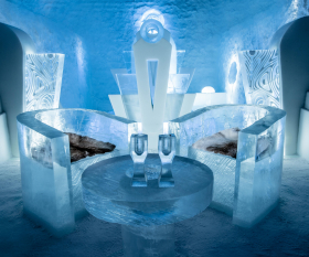 The original ICEHOTEL in Sweden