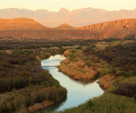 Big Bend National Park in Texas, USA