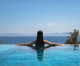 Pool with Turquoise Collection in Turkey