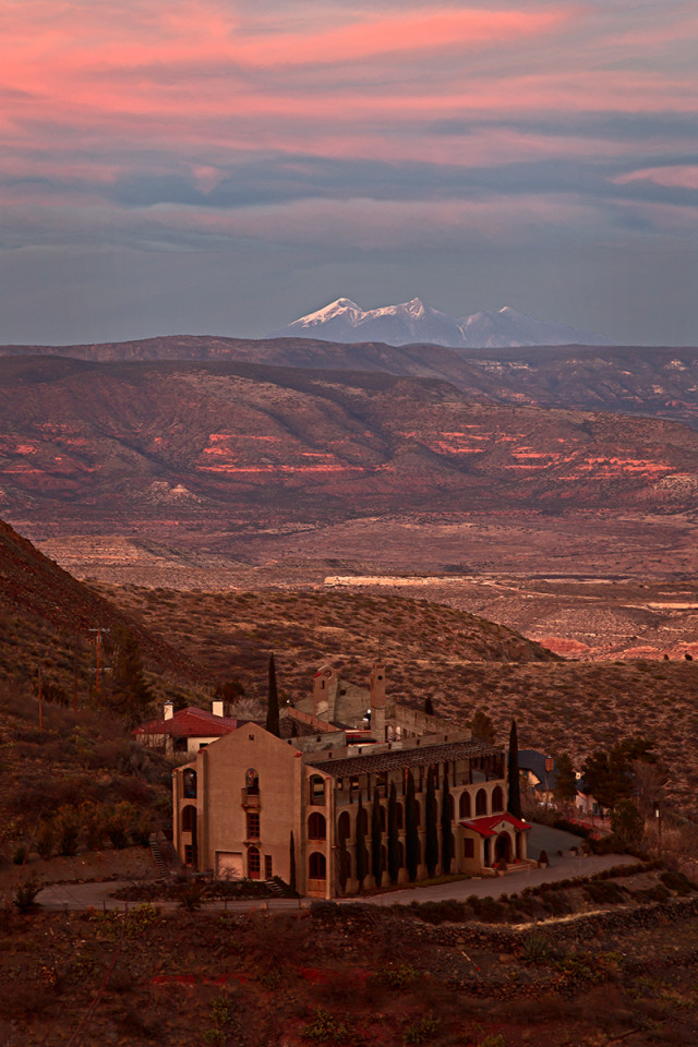 The town of Jerome, Arizona