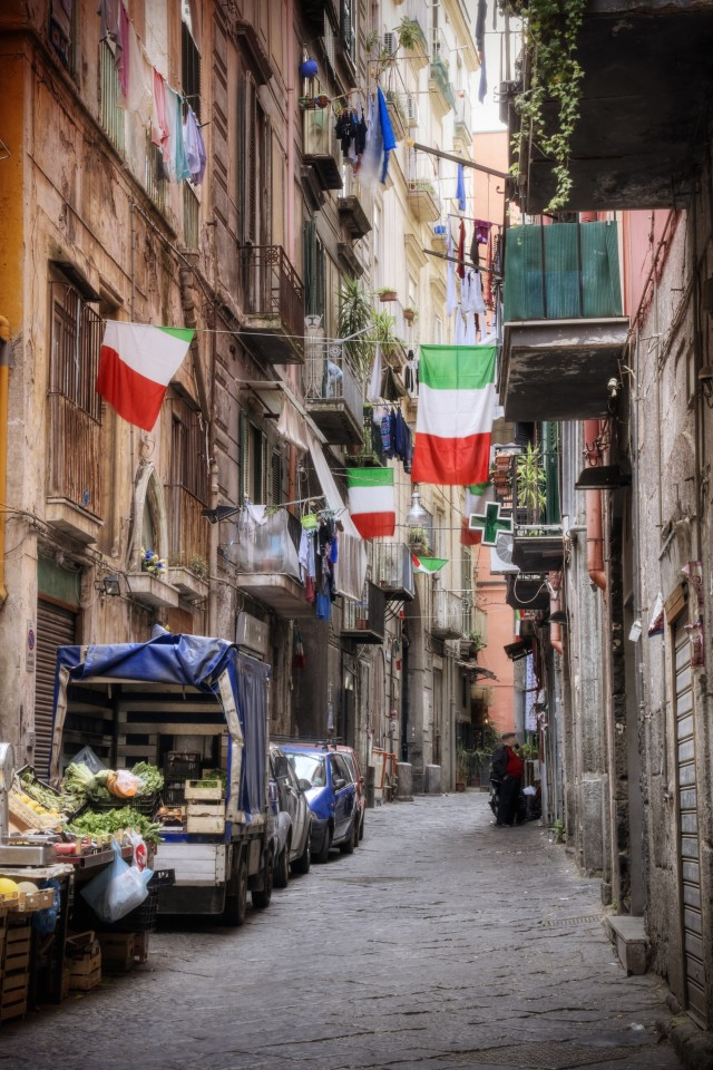 Best city breaks: streets in Naples, Italy