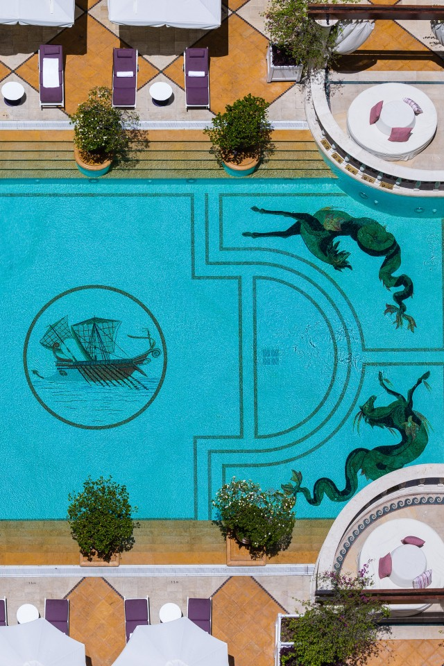 Best city breaks: Amethyste Pool at The Phoenicia hotel in Beirut, Lebanon