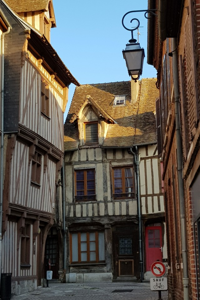 Normandy: old-school architecture