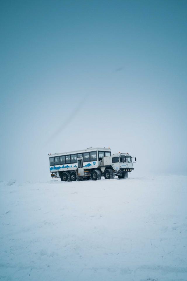 Snaefellsnes, Iceland: Langjokull glacier