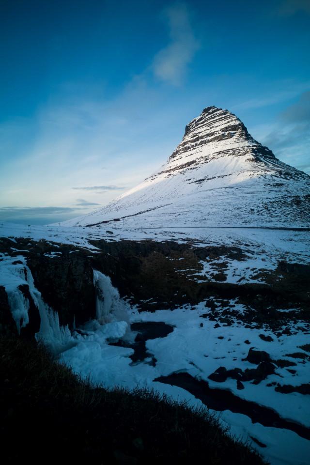 Snaefellsnes, Iceland: Kirkjufell mountain