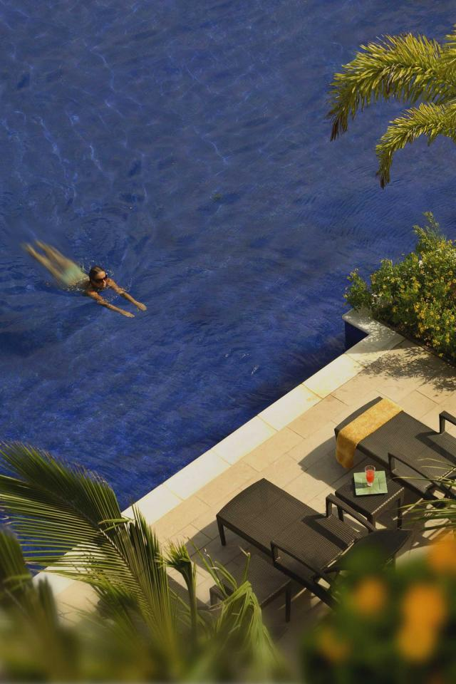 Winter sun holidays 2021: The pool at The Landings, St Lucia