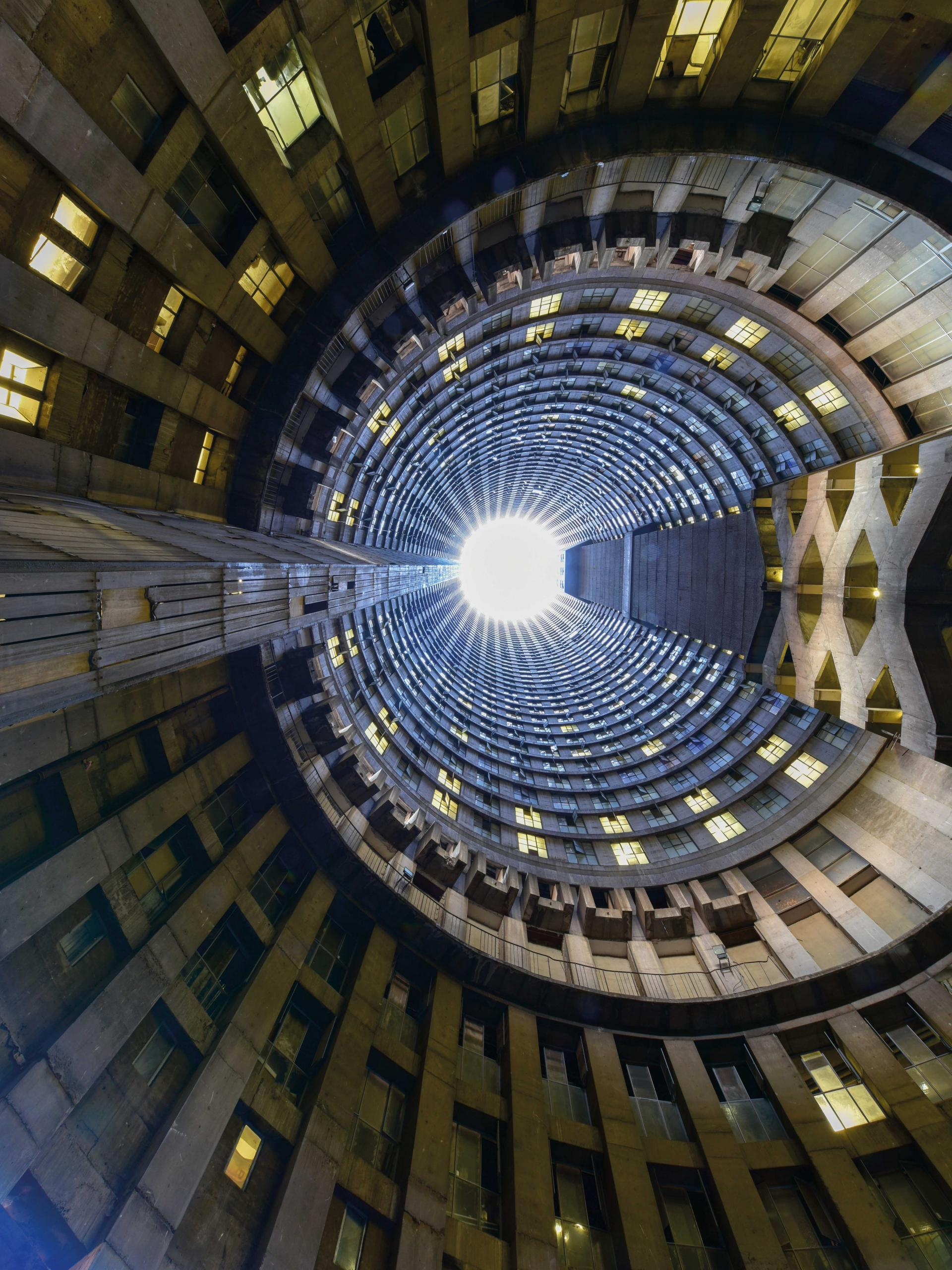 Ponte Tower in Johannesburg, South Africa