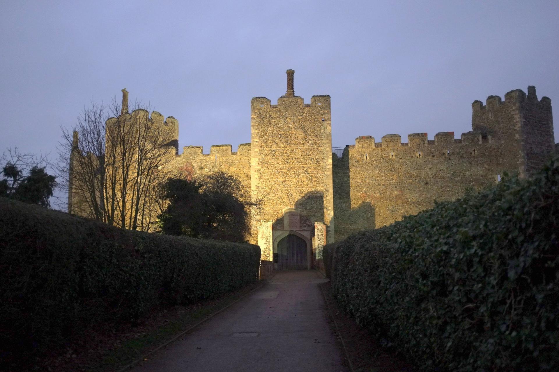 Suffolk: Framlingham Castle