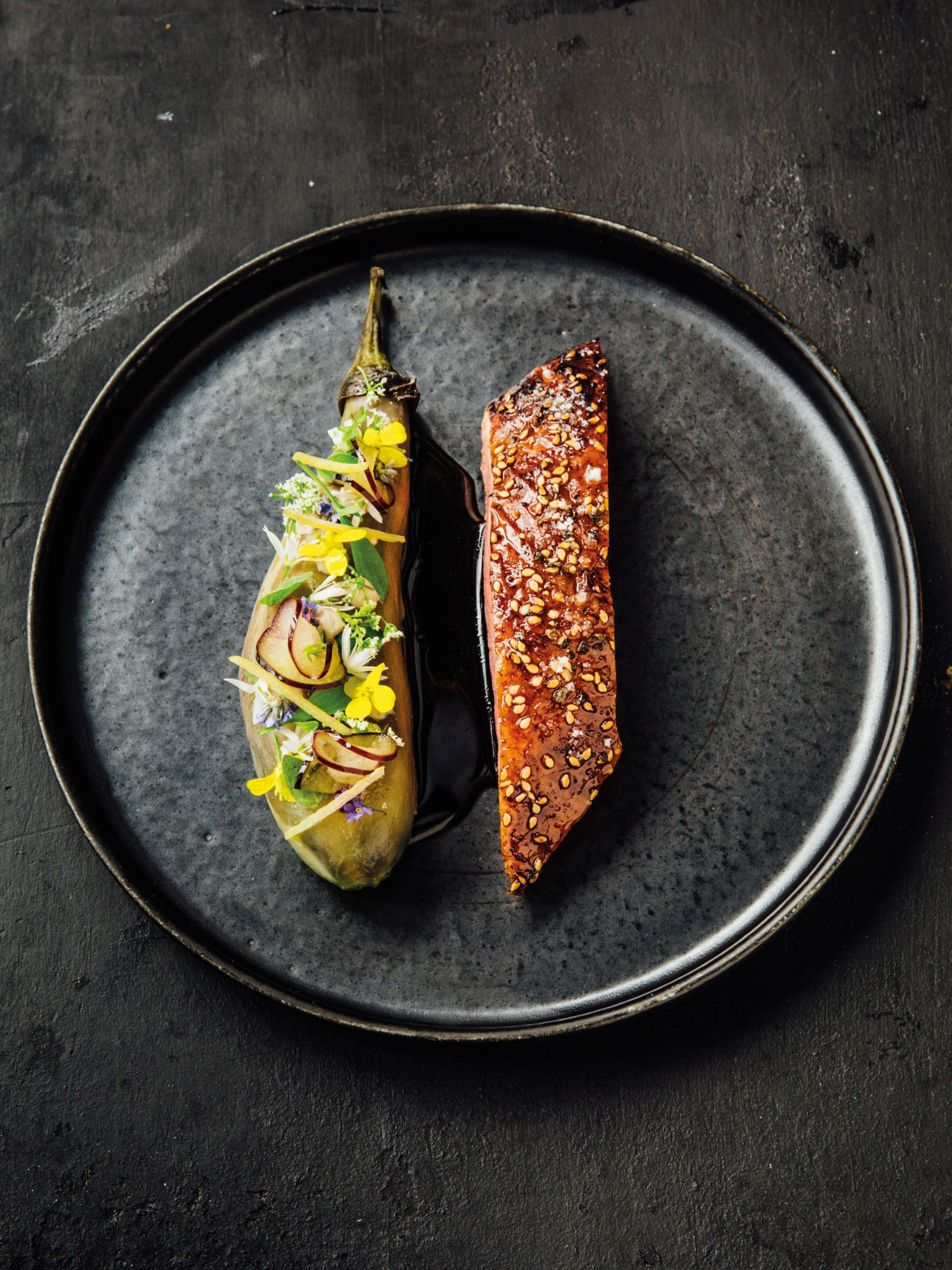 Sentier, Paris: things to do – Duck and aubergine at Frenchie