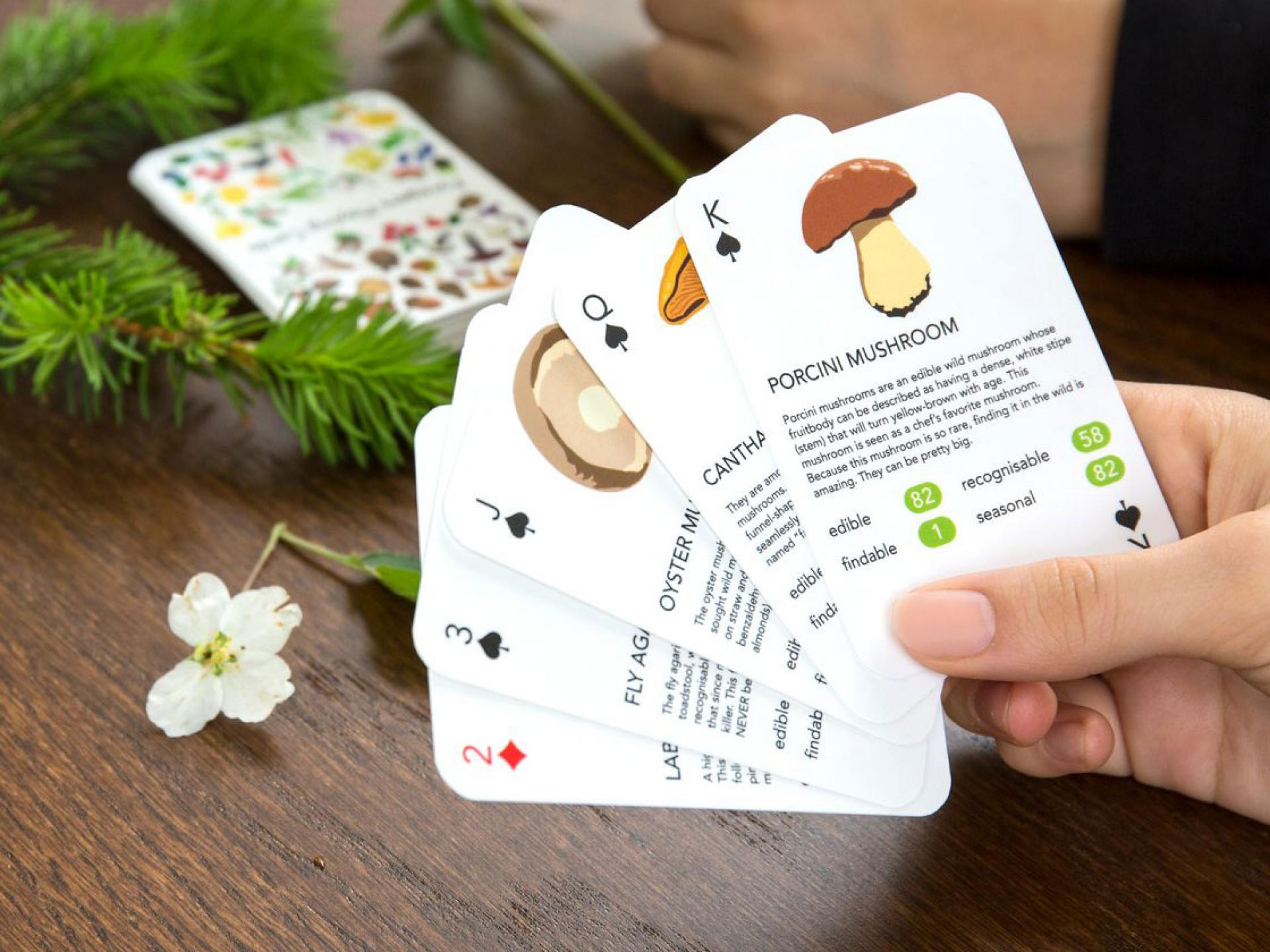 Christmas Gift Guide: Forager's Playing Card