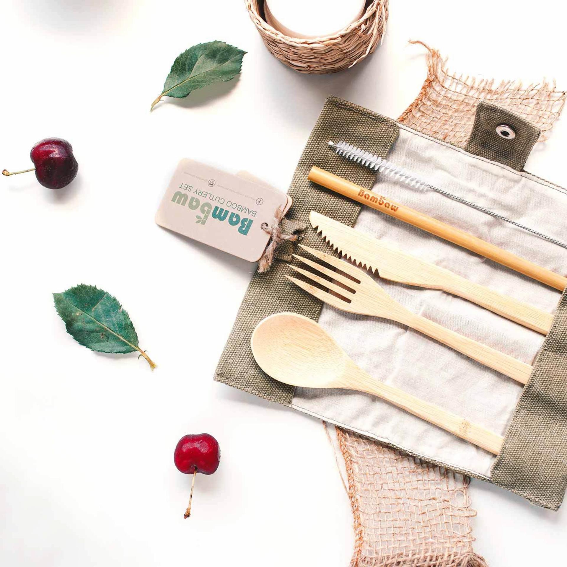 Christmas Gift Guide: Bambaw cutlery set