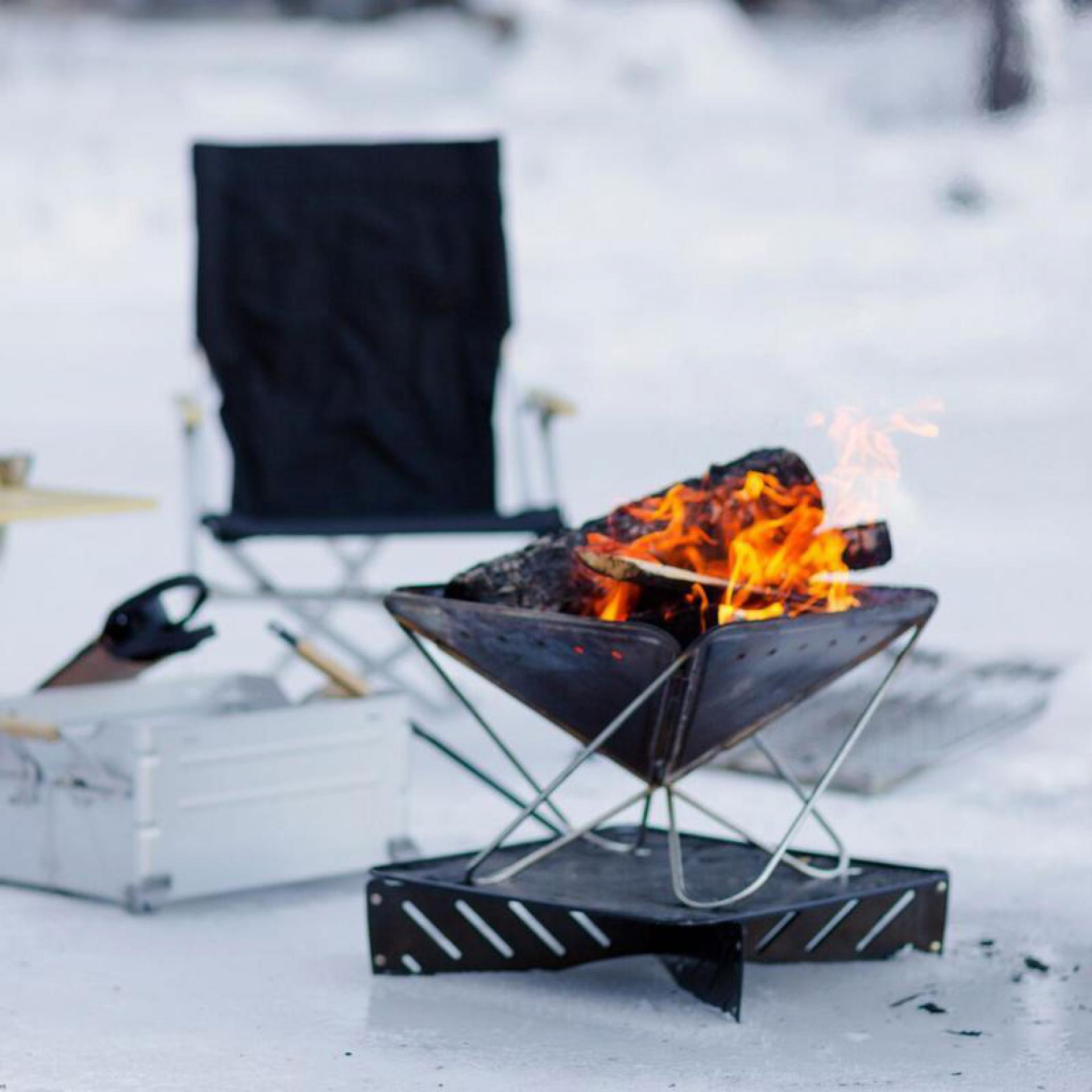Snow Peak fireplace