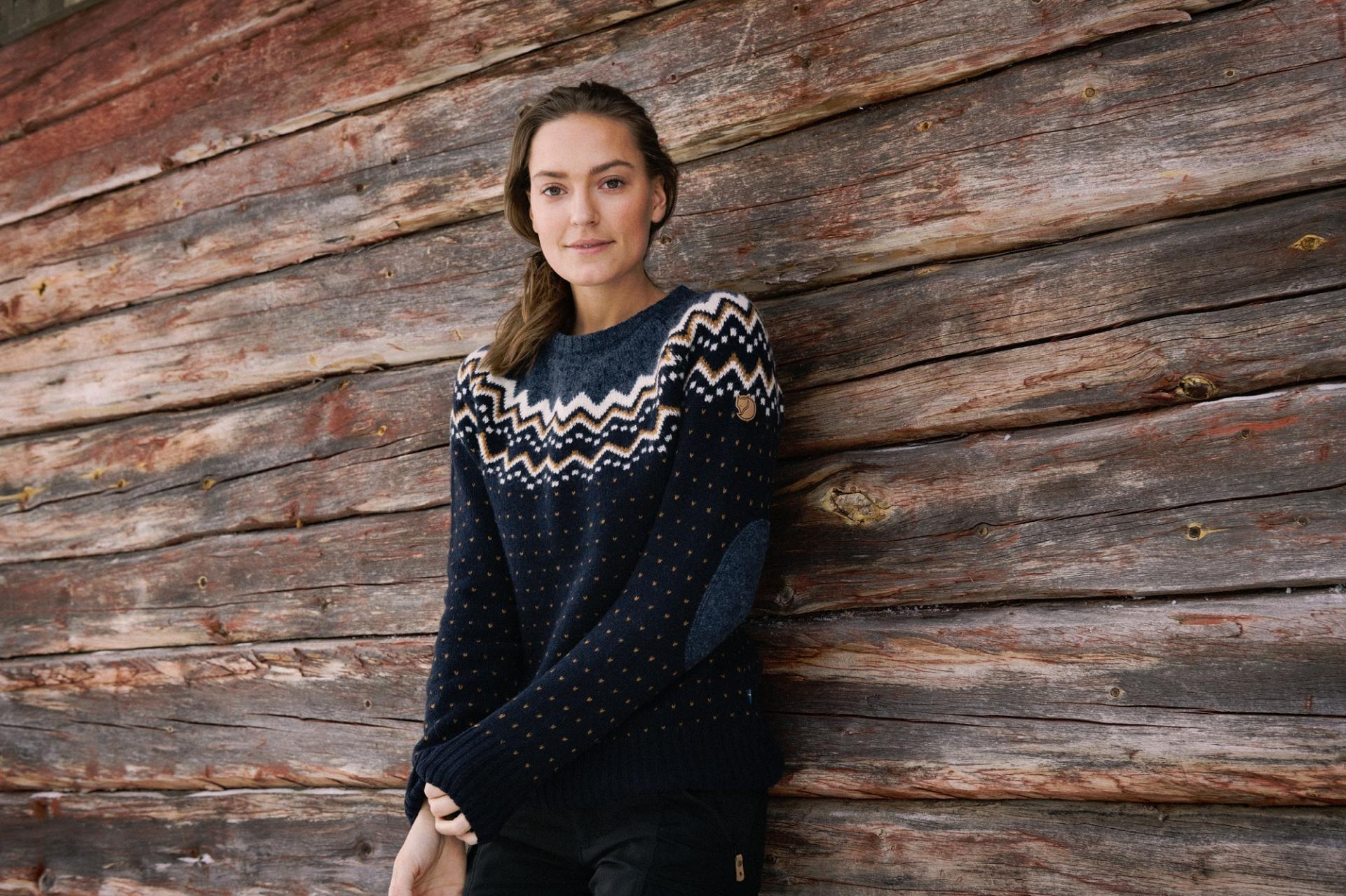 Fjallraven Ovik knit sweater: Christmas Gift Guide