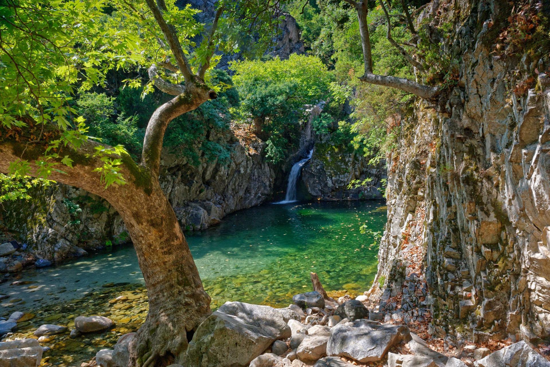 Thrace, Greece | A vathre at Samothrace