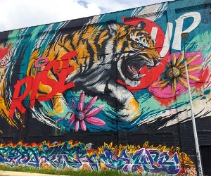 Detroit Rise Up mural