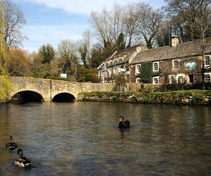 The river in Bilbury