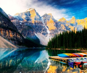Rex Montalban, Canadian Rockies, Canada
