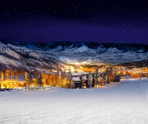 Aspen mountain, Colorado, USA