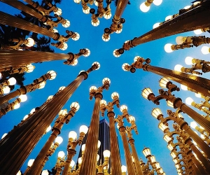 Lamps at LA County Museum of Art