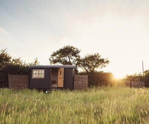 Elmley Nature Reserve shepherd's huts
