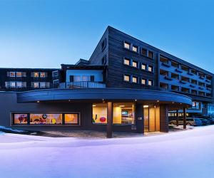 Alphotel exterior, Austria
