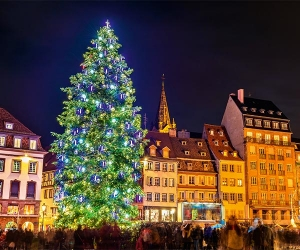 Strasbourg's Christmas Market in the city's main square