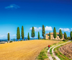 Cycling holidays in Tuscany, Italy