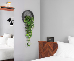 Guestroom at the new Pilgrm hotel in London