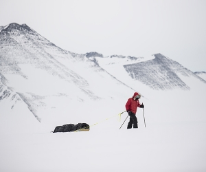 Ben Saunders skiing through Antarctica