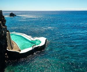 Sea pool in Madeira, Portugal