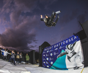 Mount Battersea at The Telegraph Ski & Snowboard Festival