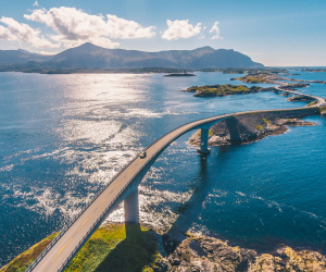 Driving Norway's Atlantic Road with Wexas Travel