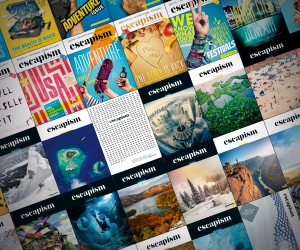 50 issues of Escapism