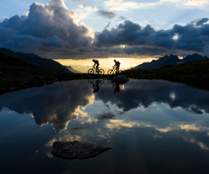 Mountain biking. TVB St Anton am Arlberg/Wolfgang Ehn
