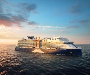 Celebrity Cruises: the Celebrity EDGE. Photograph by Michel Verdure
