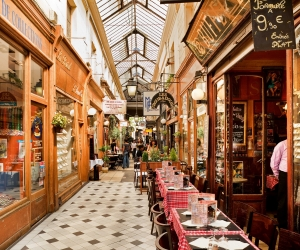 The covered Passage - Sentier, Paris