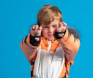 Dinoski Pounce the tiger suit